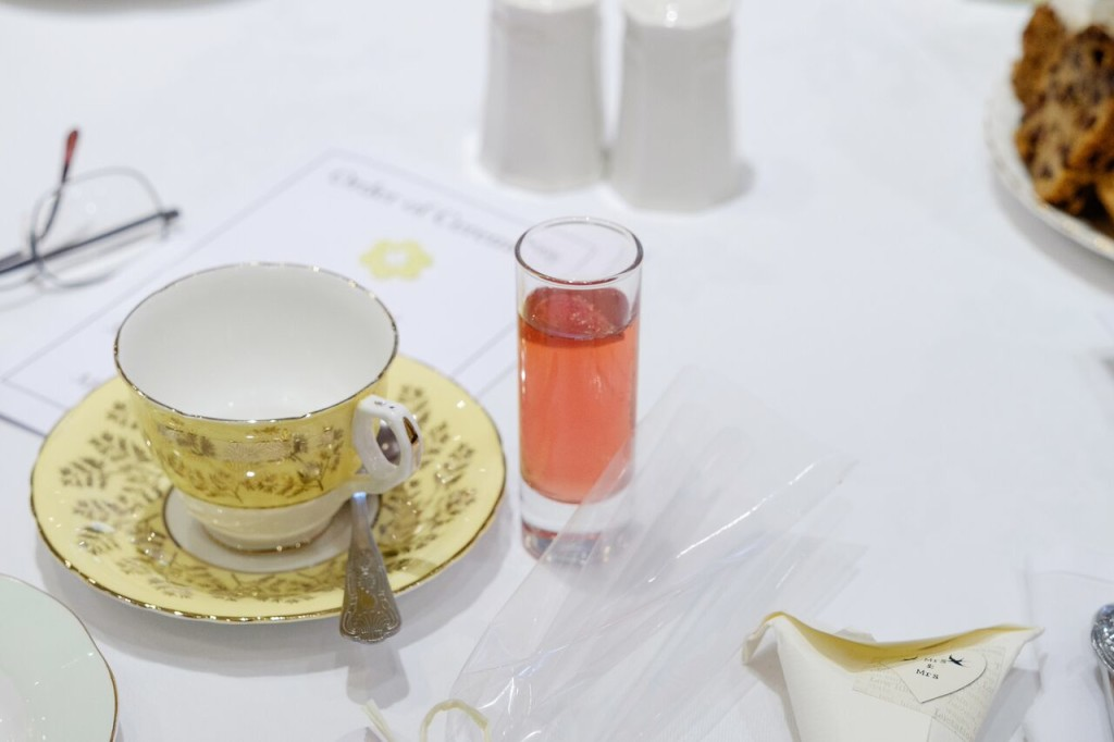 tea wedding