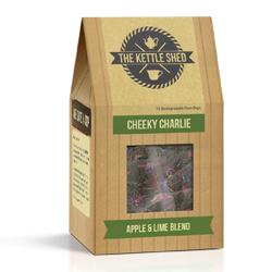 cheeky charlie kettle shed tea