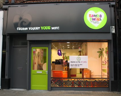 samba swirl store london