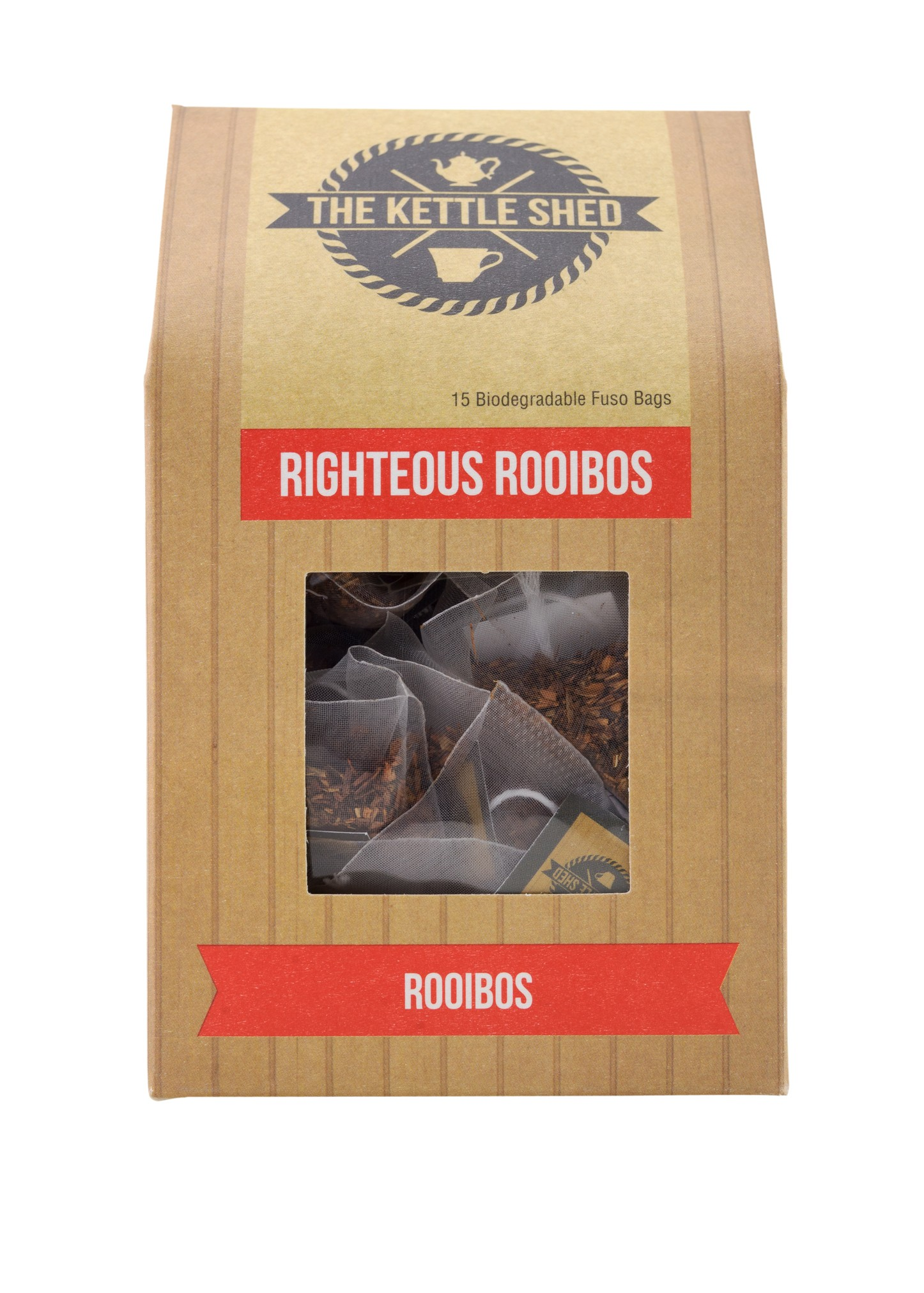 Righteous Rooibos x 15 Fuso Tea Bags