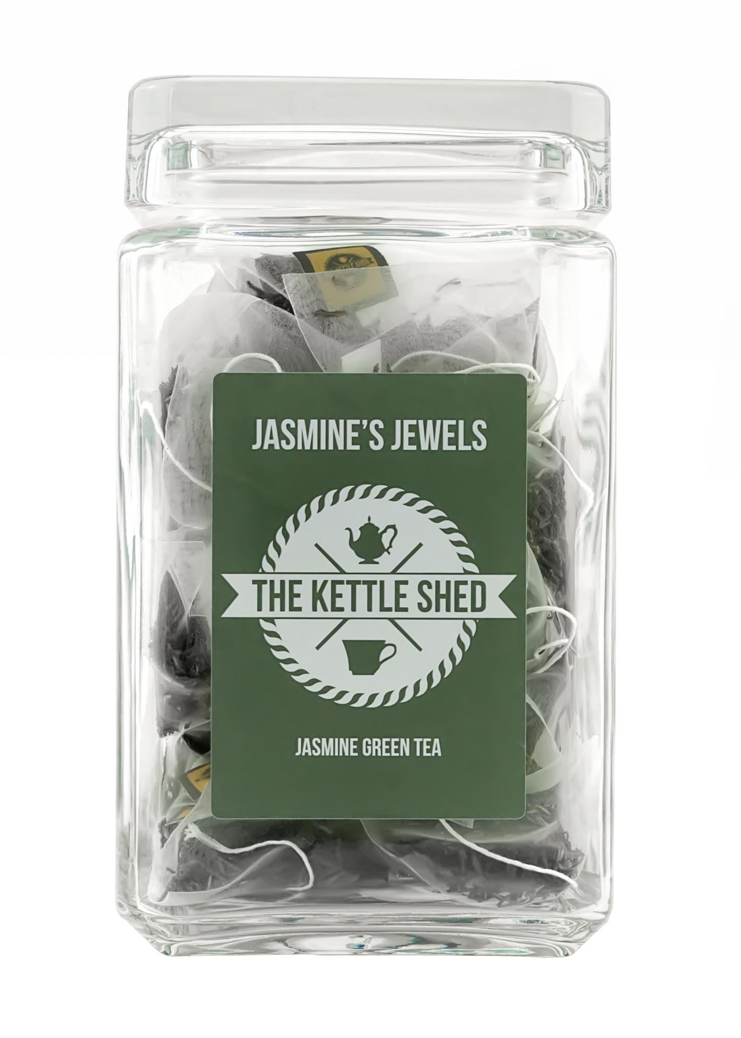 Jasmines Jewels - Glass Display Jar (without tea)