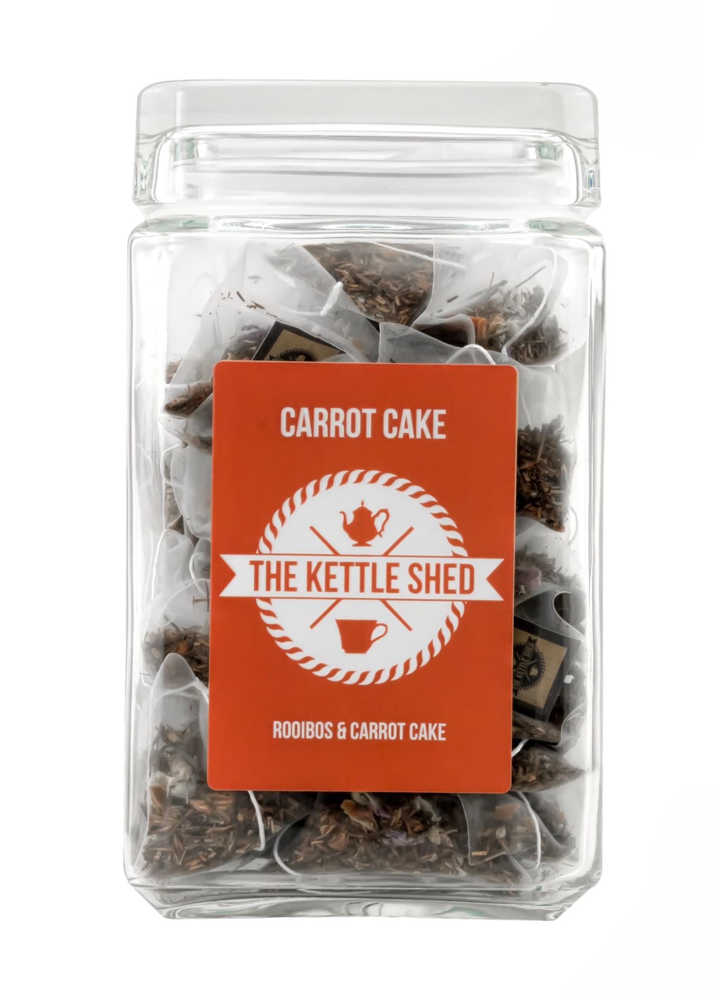 Carrot Cake - Glass Display Jar (without tea)