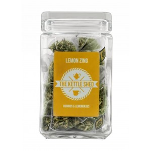 Lemon Zing - Glass Display Jar (without tea)
