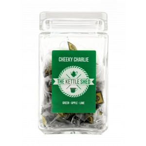 Cheeky Charlie - Glass Display Jar (without tea)