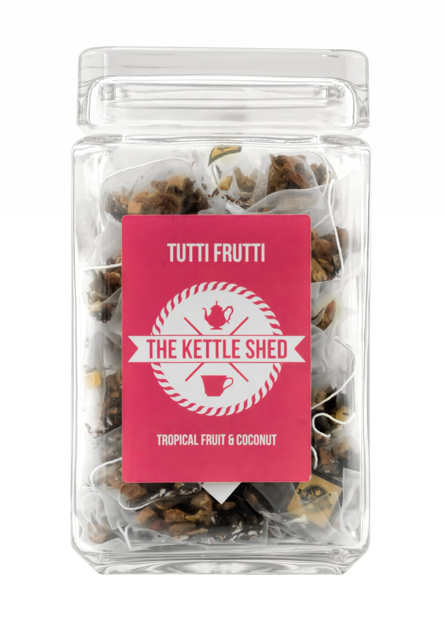 Tutti Frutti - Glass Display Jar (without tea)