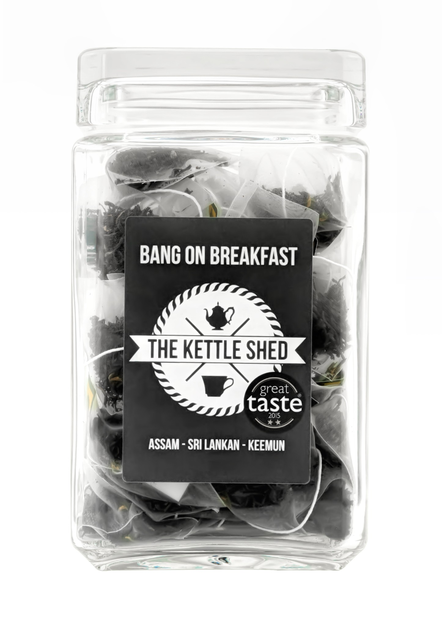 Bang on Breakfast - Glass Display Jar