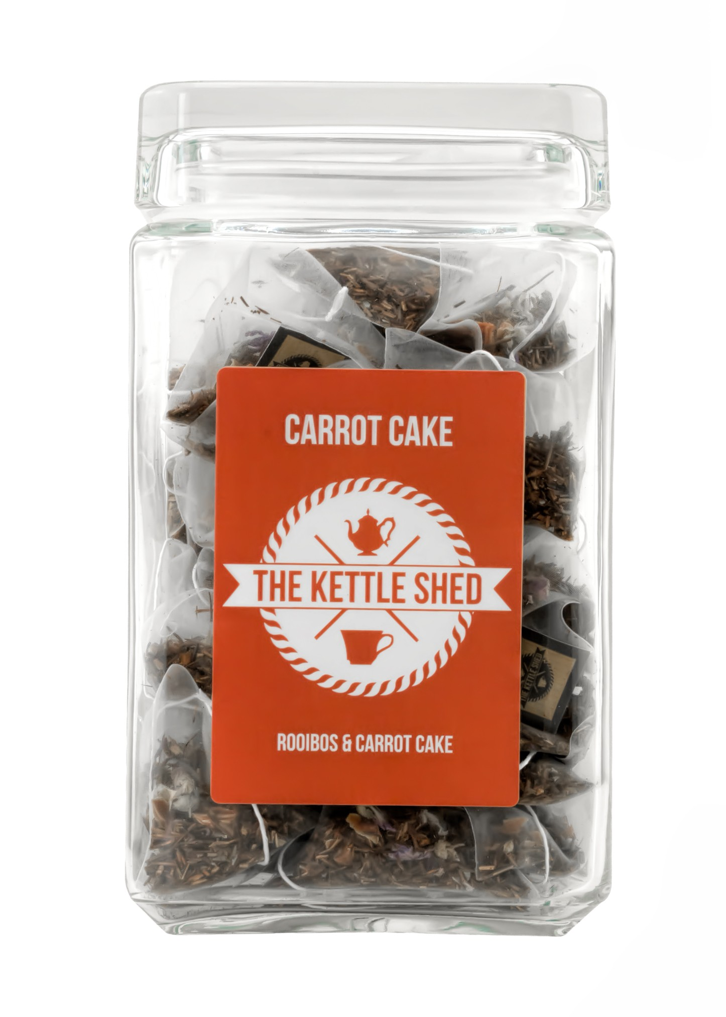 Carrot Cake - Glass Display Jar