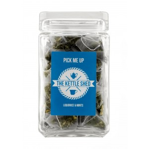 Pick me up - Glass Display Jar