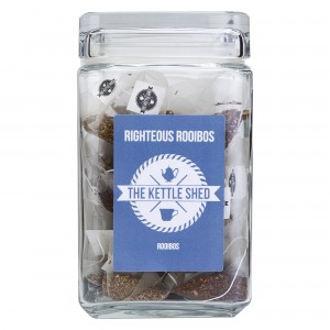 Righteous Rooibos - Glass Display Jar