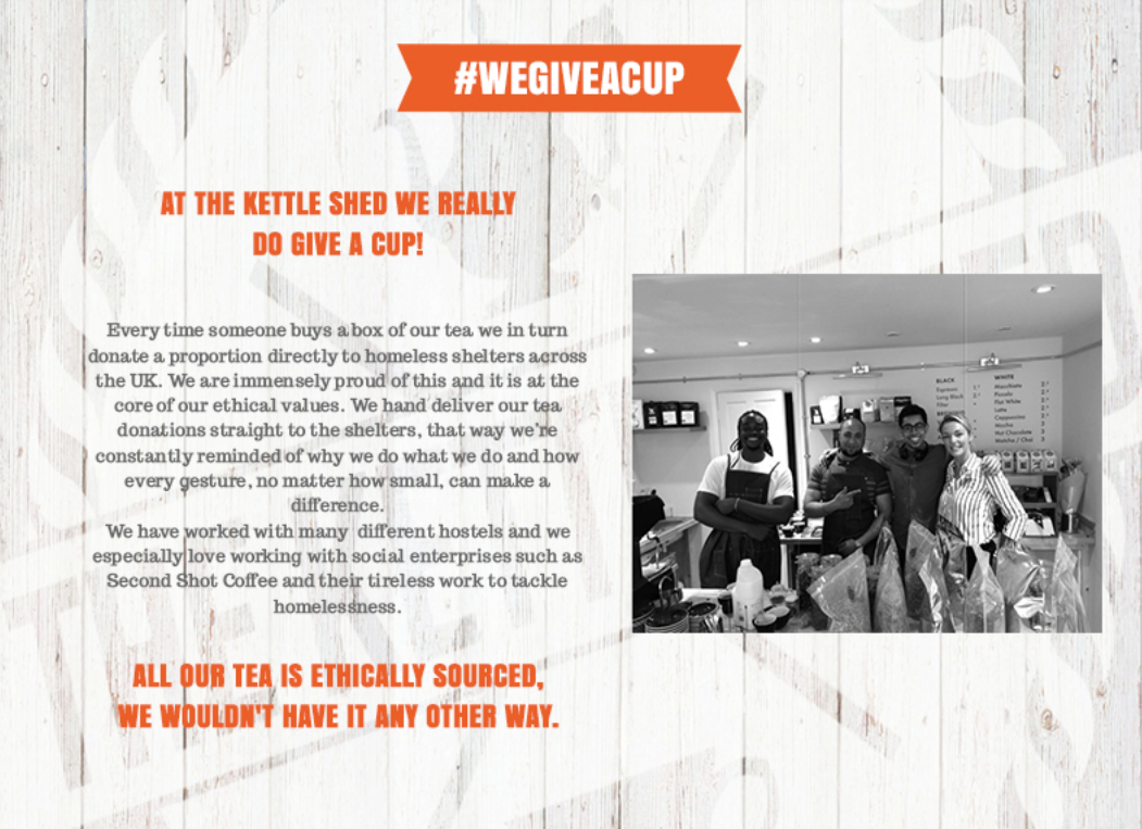 We Give a Cup