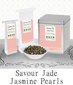 Try Jade Jasmine (Dragon Phoenix) Pearl Tea...